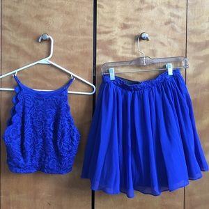 size 13 juniors (fits size 2-4) hoco dress